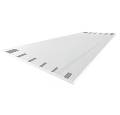 Plaque de plâtre NF 120/250 cm, 4 bords amincis