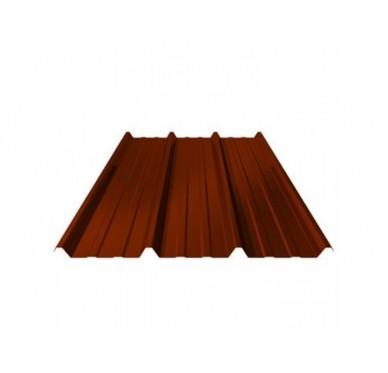 Tôle acier 400 x 100 cm, rouge.