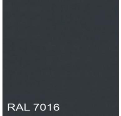 Tôle acier 500 x 100 cm, grise.