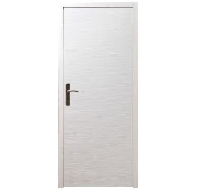 Bloc porte intérieur structuré H204xL73cm poussant droit  huisserie 90