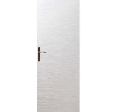 Porte seule intérieure blanche structuré 204 cm x 83 cm