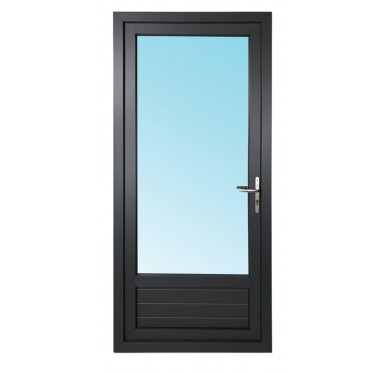 Porte-fenêtre 1 vantail en PVC H205xL80cm