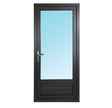 Porte-fenêtre 1 vantail en PVC H205xL90cm