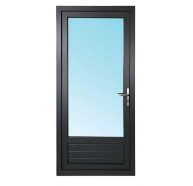 Porte-fenêtre 1 vantail en PVC H215xL90cm