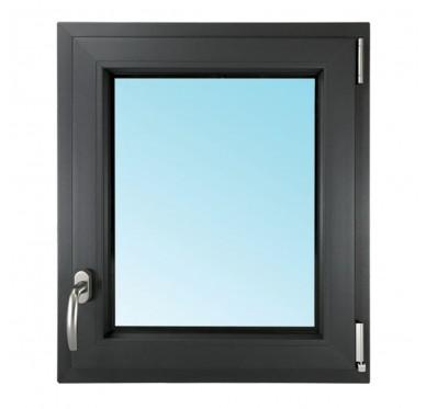 Fenêtre 1 vantail en PVC H45xL40cm