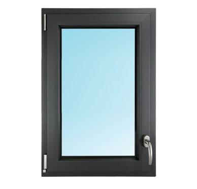 Fenêtre 1 vantail en PVC H95xL60cm