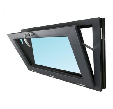 Fenêtre abattant en PVC H45xL60cm