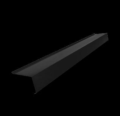 Faîtière double pente pour tôle acier ondulée noire  2.10 M