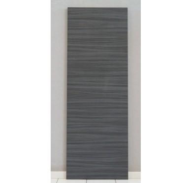 Porte seule intérieure mélaminé noir-ébène 204x83