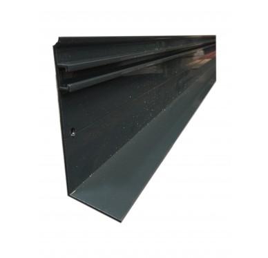 Faitière universelle + joint aluminium 4M, gris