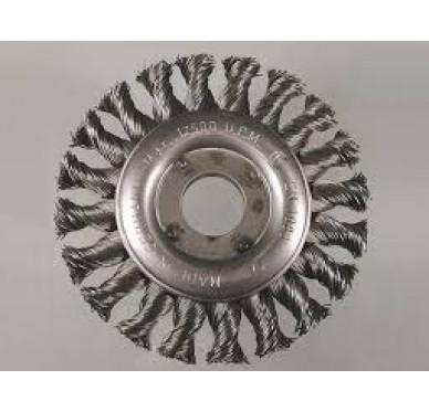 IRONSIDE - BROSSE CONIQUE 100x10mm, fil ONDULÉ
