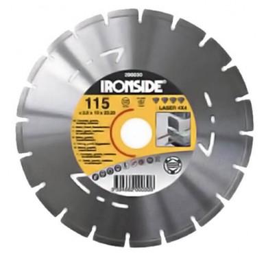 IRONSIDE - DISQUE LASER 4-EN-1, 125mm