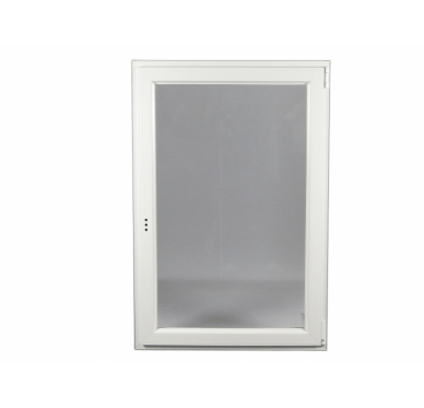Fenêtre 1 vantail, tirant droit Oscillo-Battante H 75 x L 80 cm