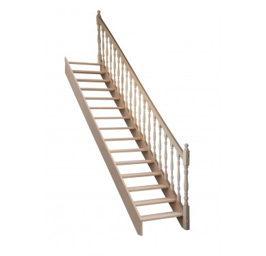 Escalier droit sans contremarche H300XR276CM