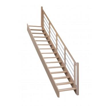 Escalier droit sans contremarche H280XR276CM