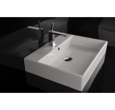 Vasque à poser ou à suspendre, modèle unlimited, 60cm