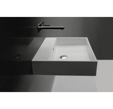 Vasque à poser ou à suspendre, modèle unlimited, 70cm