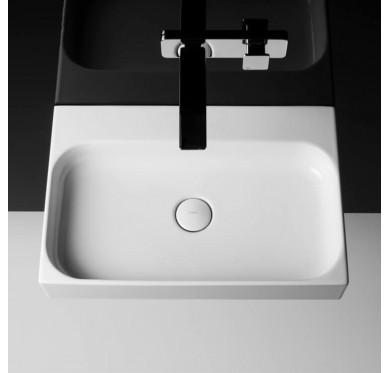 Vasque à poser ou à suspendre, modèle unit, 60cm