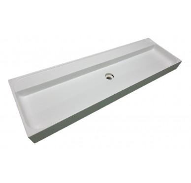 Vasque à poser ou à suspendre, modèle under, 140cm