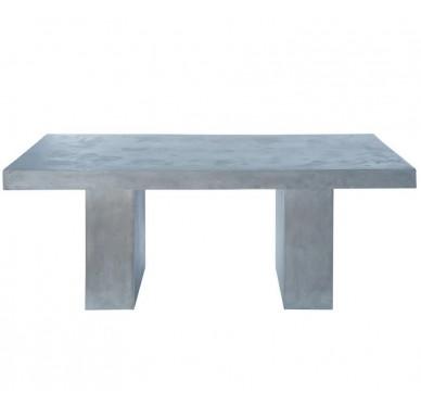 Table grise effet béton