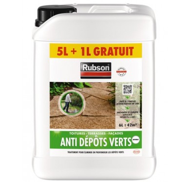 Anti-dépôts verts bidon 20 litres