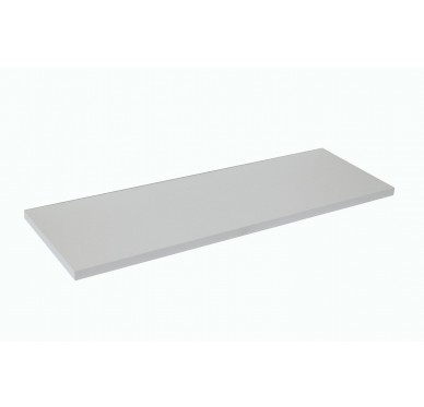 Plan de toilette blanc 82 x 49 cm Ép. 18mm