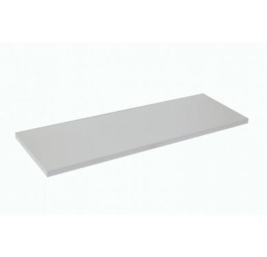 Plan de toilette blanc 80 x 49 cm Ép. 27mm