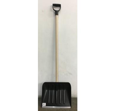Pelle à neige - 40x33cm - manche en bois