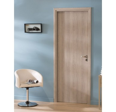 Bloc-porte intérieur poussant gauche, H204xL83cm, Bâti ajustable 'PALMA'