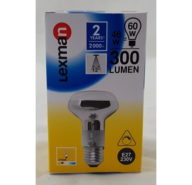 Ampoule E27-46W/R60W