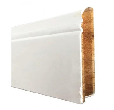IMBATTABLE Plinthe en MDF blanc longueur 2m ou 2,40m