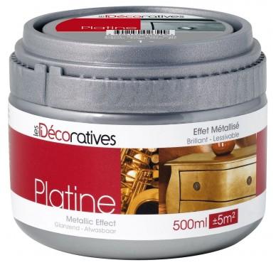 Platine Les Décorative effet Metallic 500ml