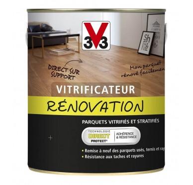 Vitrificateur rénovation parquet, 2.5 Litres, Brillant