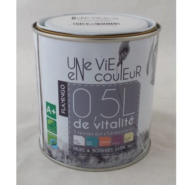 Peinture murs et boiserie 0,5 litres, Verre Dépoli