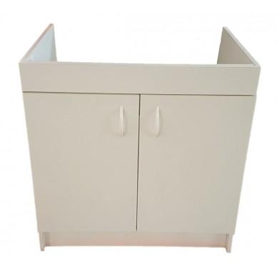 Meuble sous évier 2 portes, Largeur 80 cm