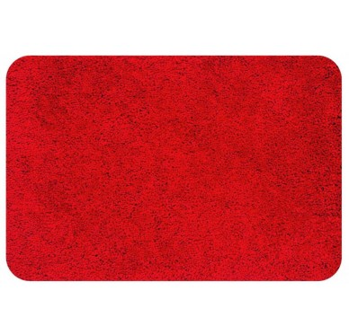 Tapis Spirella Highland Bathmat 60x90cm Red