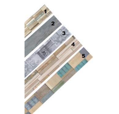 Lames Vinyles 122 x 18.3 cm.