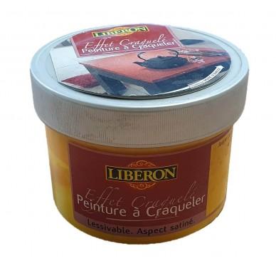 Peinture à craqueler Libéron. Jaune Corète. 250 ml