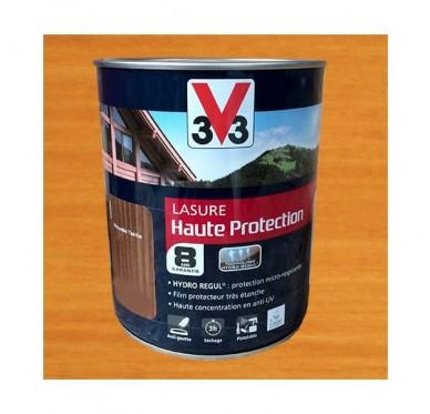 V33 Lasure Haute protection 8 ans, 1L, Chêne clair Satin