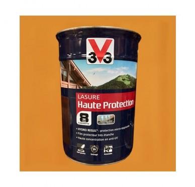 V33 Lasure Haute protection 8 ans, 5L, Chêne clair Satin