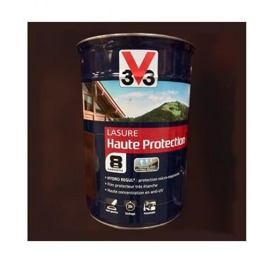 V33 Lasure Haute protection 8 ans, 5L, Chêne foncé Satin