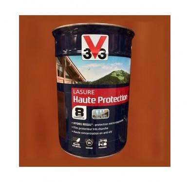 V33 Lasure Haute protection 8 ans, 5L, Pin d'Orégon Satin