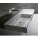 Vasque à poser ou à suspendre, modèle unlimited, 140cm