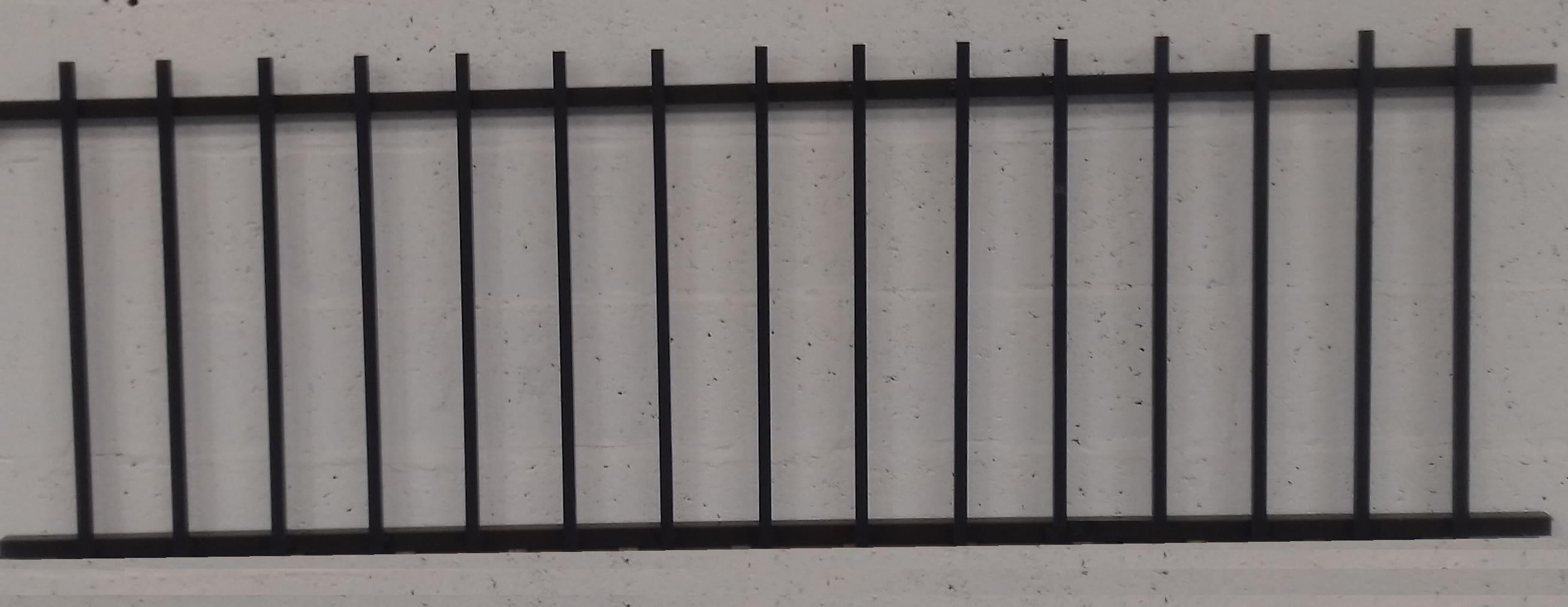 Travee De Cloture Aluminium H76xl200cm