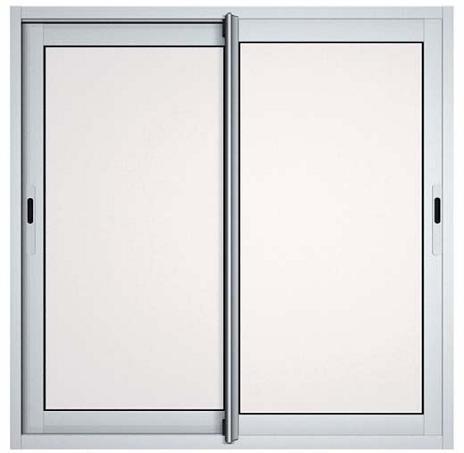 Fenêtres Coulissantes En Aluminium H100 L150 Laqué Blanc Pas Cher