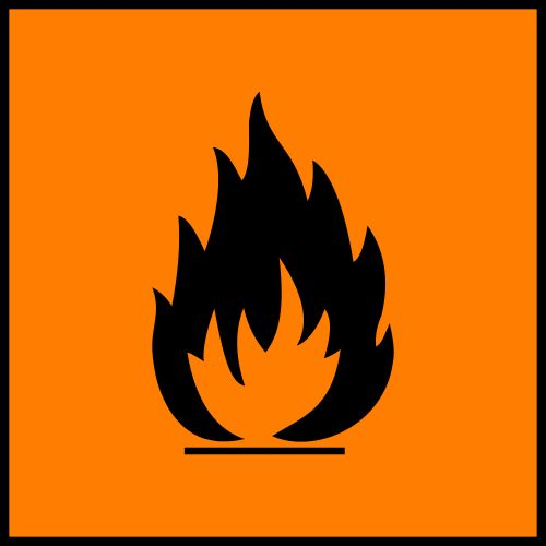 Facilement inflammable