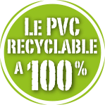 PVC recyclable à 100%