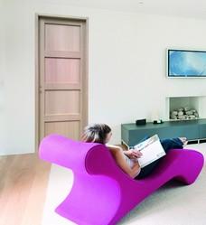porte d 39 int rieur bois pas cher ch ne h tre exotique sainthimat. Black Bedroom Furniture Sets. Home Design Ideas