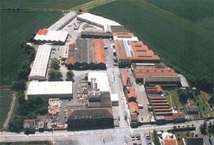 Vue aérienne du site de Caudry